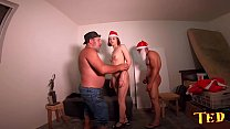 Lots of spree and zueira behind the scenes of Santa's bribery - Luara Amaral - Bettohfitness