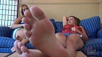 Lick my big feet