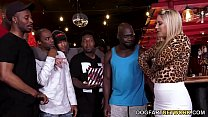 11563 BBC Slut Candice Dare Survives Interracial Gangbang In A Bar preview