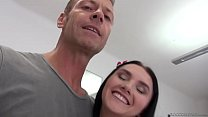 Crystal Greenvelle enjoys DP with Rocco and his friend preview image