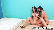 Jayden Jaymes and Brandy Aniston hardcore threesome - 9Club.Top