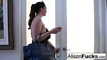 Busty Alison Tyler meets her Catfish then fucks his friend preview image