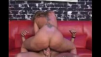 Flower Tucci Squatting and Squirting on Cock
