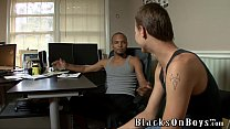 Xenar Gets Fucked By Two Horny Black Guys Preview