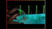Image: Elizabeth Berkley - Showgirls Pool Scene