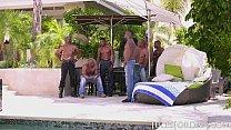 Jules Jordan - Riley Reid Interracial Gangbang thumbnail