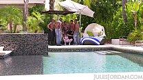 Jules Jordan - Riley Reid Interracial Gangbang Vorschaubild