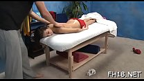 Hot sweetheart plays with dick video