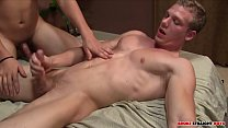 Johnny Forza's first time getting fucked by Carson Hawk - free hardcore gay sex