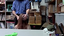 hypnolust download » Hot skinny redhead teen shoplifter gets caught stealing thumbnail