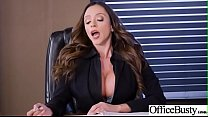 Hot Sex In Office With Big Round Boobs Girl (Ar...