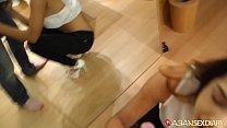 Asian Sex Diary - Sexy young Asian babe takes white cock deep thumbnail