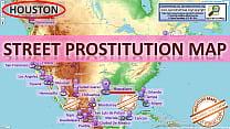 Houston  Street Prostitution Map  Sex Whores  F