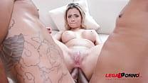 Izabela Pimenta assfucked in hardcore threesome...