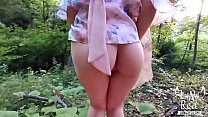 Busty Bitch Blowjob Outdoor Big Dick And Swallo