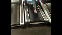 phat african ass on treadmill