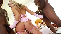 Beauty blonde Andi Anderson and big black cocks Preview