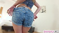 Teenie dutch Taylor pleasures herself solo on Givemepink Preview