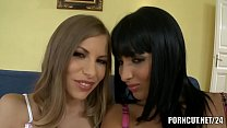 Natural busty Anissa Kate compilation with Zorah White & Avril Sun
