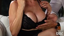 Busty Milf McKenzie Lee gets her shaved tight pussy fucked balls deep ◦ nikkiplease pussy thumbnail
