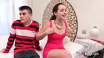 Free download video bokep Soraya loses her innocence surrounded by cocks