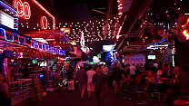 Soi Cowboy Sukhumvit Road Night In Thailand