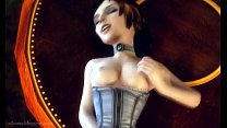 Elizabeth Comstock (Bioshock) gets drilled in C...