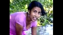 village girl bathing in river showing assets www.favoritevideos.in's Thumb