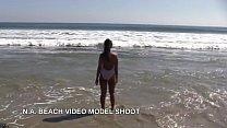 Video Model Sho ot Beach