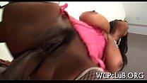 Ebony chap bangs girl Preview