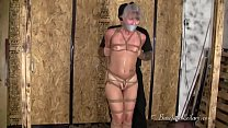 Leilani Lei in Her First Tight Hogtie video