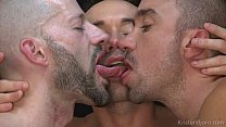 bareback threesome porn image