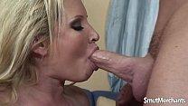 Blonde big tit pornstar fucked good thumbnail