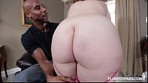 Chubby Busty Milf Gets her first taste of BBC thumb