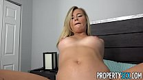 Image: PropertySex - Petite cutie makes sex video for her sugardaddy