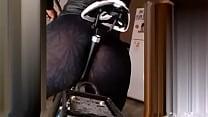 culo en calza arriba de bici thumb