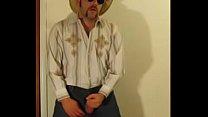 Cowboy gozando
