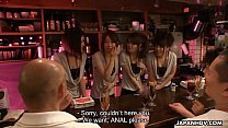 Anal fucking the bitches who are waitresses at the bar - 69VClub.Com