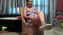 A seat a fucked and a cum on her tits ADR0110