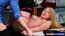 Teen thief Alexa raye is willing to trade her p...