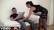 Polskie porno - Footjob made in Poland