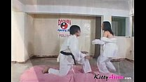 Karate filipina player gets cumshot
