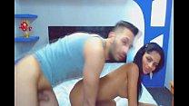Latina Girlfriend Gets Fucked - CumAlongCams.com pornhub video