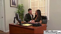 Hard Sex On Cam In Office With Big Juggs Gorgeous Girl (Elicia Solis) Clip-15