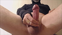 My solo 81 (Wanking with mask on, legs up and cumshot)