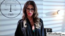 (Jessica Jaymes) Girl With Round Big Tits In Hard Style Sex In Office clip-12 Preview