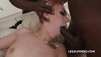 Double Anal Creampie Kira Thorn gets Terrific BBC DAP with 2 Double anal Creampie, 1 Creampie, 3 Swallows GIO675