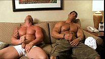 Zeb Atlas and Mark Dalton jackin off