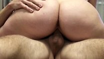 Dissatisfied step sister seduces brother with her lush ass صورة