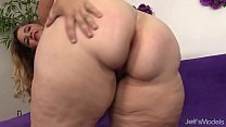 17037 Big boobed fat girl Hailey Jane nude and fucking preview